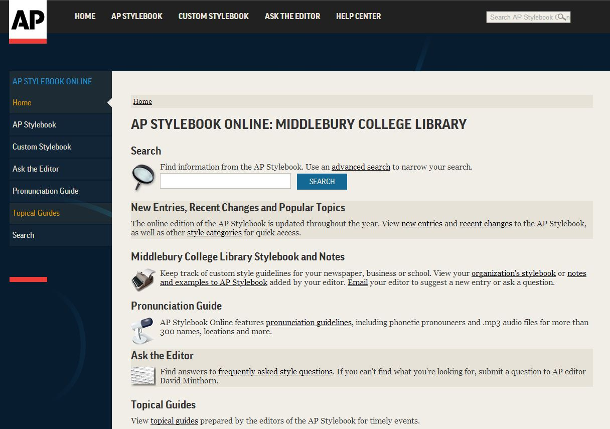 AP-Stylebook-Home-Page